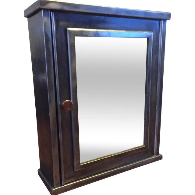 HG Dougherty 1920s Steel Medicine Cabinet - Image 1 of 6