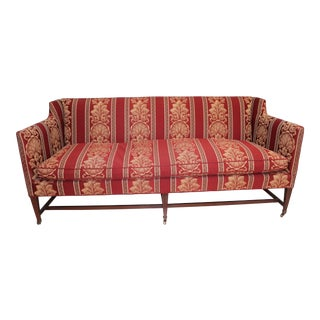 Late 20th Century Vintage Hickory Chair Co Sheraton Style Sofa For Sale