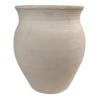 Simple White Vase For Sale