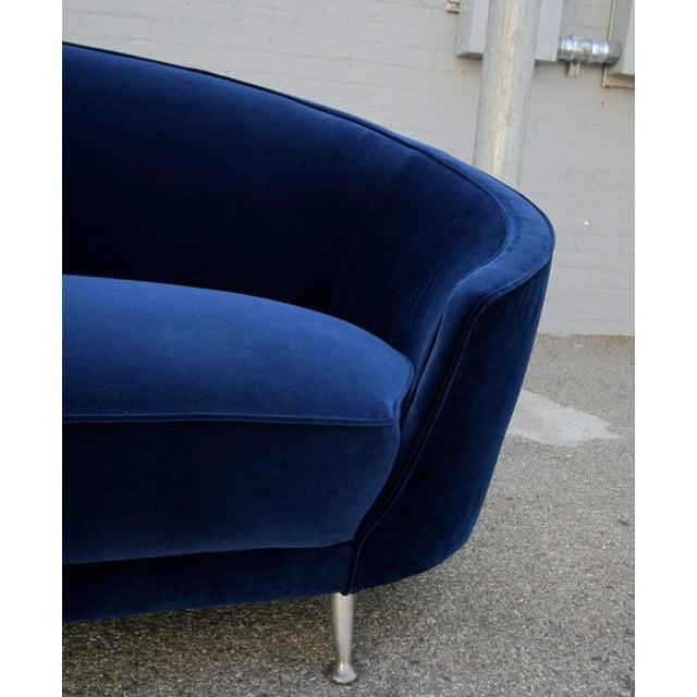 Ico Parisi Italian Sofa in the Style of Ico Parisi, 1960s For Sale - Image 4 of 6
