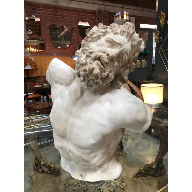 The original of this bust is exhibited at the Vatican Museum, Rome. Italy The statue of Laocoön and His Sons, also called...