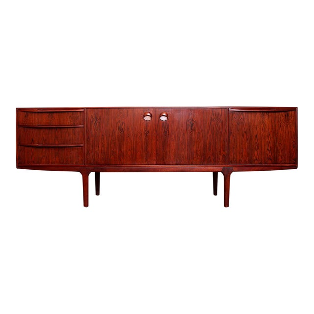 1960's Mid Century Modern Rosewood Credenza For Sale