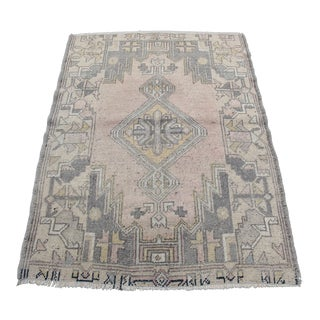Antique Turkish Anatolian Rug - 2′8″ × 3′5″