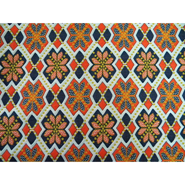 Textile Rare 1960s Knit Heavy Weight Crimplene Fabric For Sale - Image 7 of 8