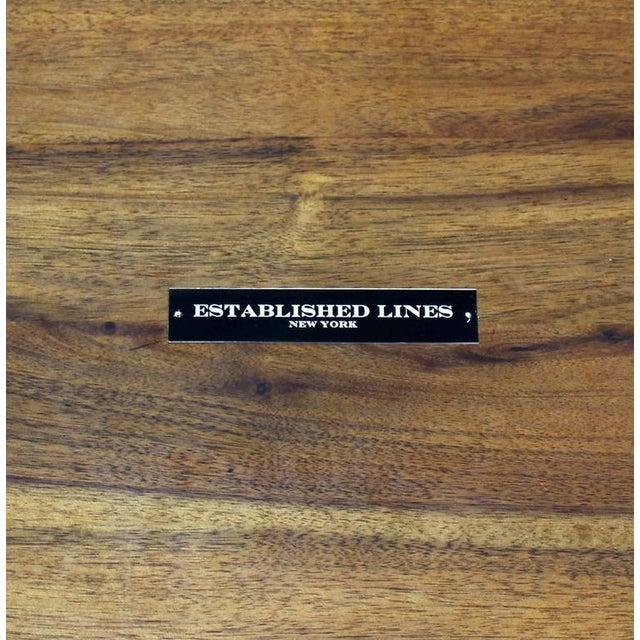 Pair of Sputnik Chrome Base Side Table For Sale - Image 9 of 9