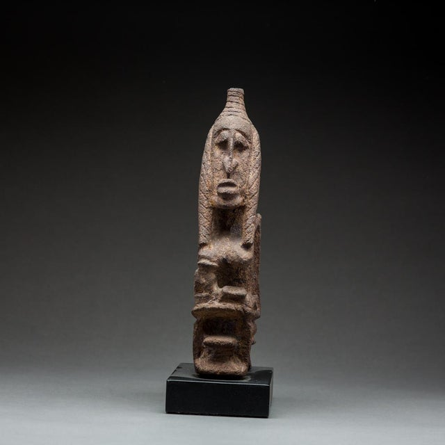 Please update measurements. The sculptural arts of western africa owe a great deal to the shadowy peoples known as the...