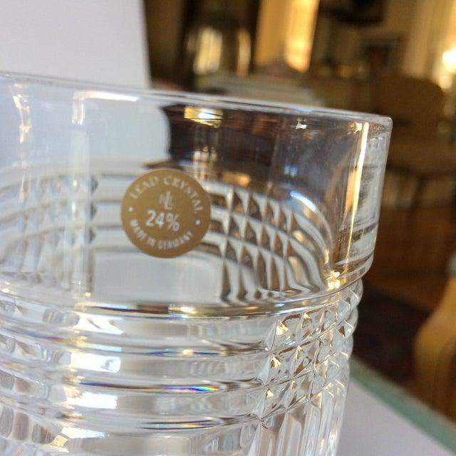 6ffa2962d8cf Ralph Lauren Glen Plaid Crystal Highball Glasses - Set of 4 For Sale -  Image 10