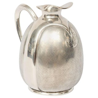 Silver Vase / Carafe by Fratelli Cacchione from Milan, Italy For Sale