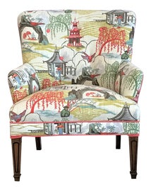 Image of Chinoiserie Club Chairs