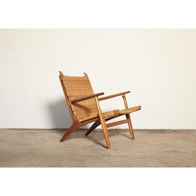 A wonderful CH27 chair designed by Hans Wegner for Carl Hansen, Denmark, 1950s. Ships worldwide.