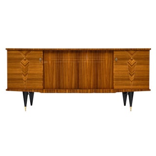 French Mid-Century Rosewood Buffet For Sale