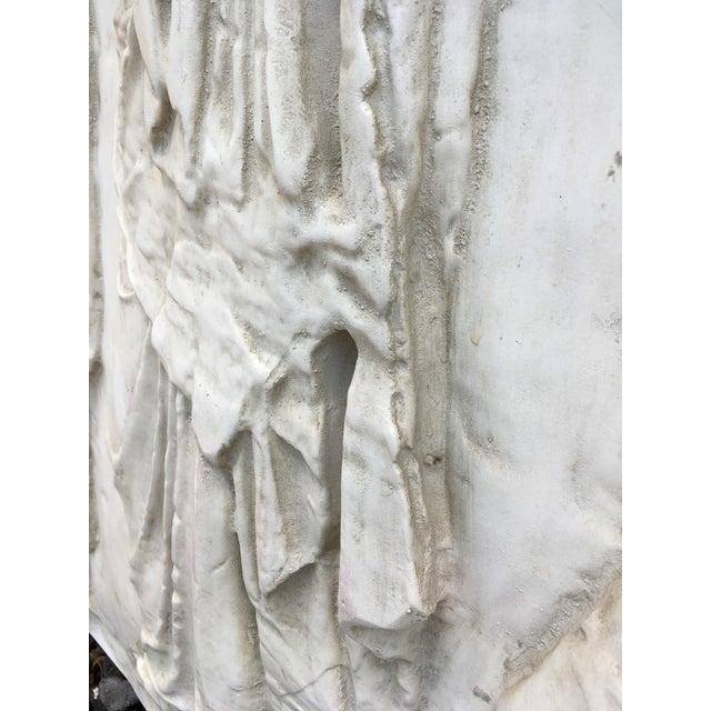 Modern Figural Fiberglass Wall Sculpture/Art For Sale - Image 10 of 11
