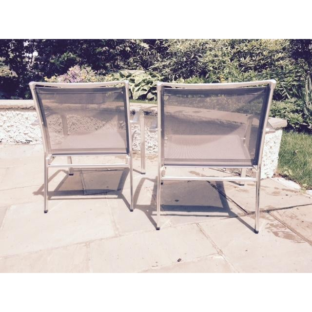 Indecasa Lucca Armed Lounge Chairs - Set of 4 For Sale - Image 4 of 4