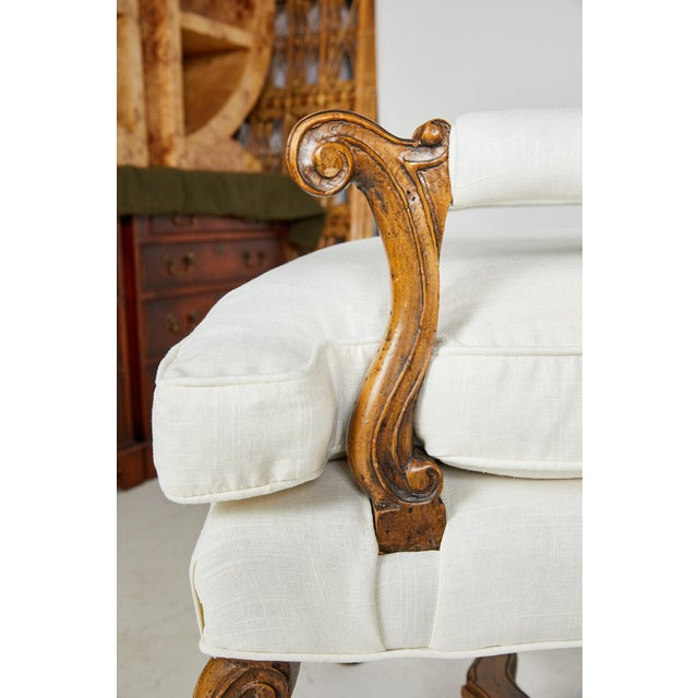 Pair of Italian Armchairs For Sale - Image 10 of 13