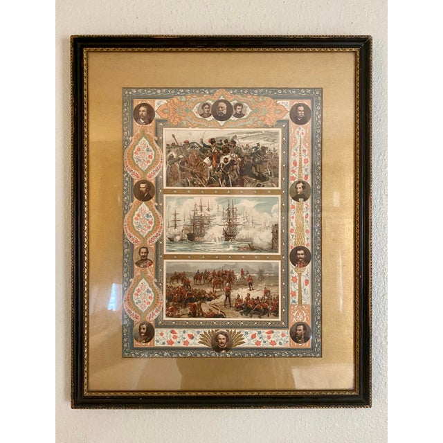 Late 19th Century Print Depicting Various Battles, Generals and Politicians For Sale - Image 13 of 13
