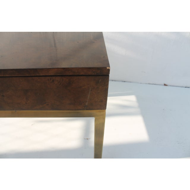 Tomlinson Burlwood End Table For Sale In Miami - Image 6 of 11