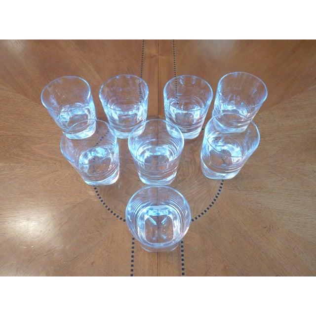Heavy Glass Short Rocks Glasses - Set of 8 - Image 3 of 6