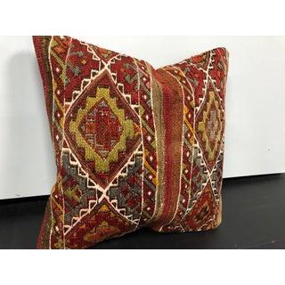 Vintage Turkish Ethnic Design Decorative Kilim Pillow Preview