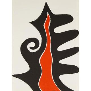 1973 Alexander Calder Original Lithograph For Sale
