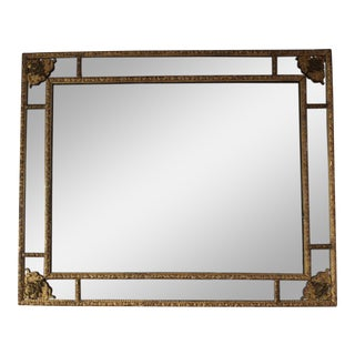 19th Century French Gold Giltwood Mirror