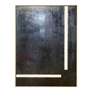 """Exclusive John O'Hara """"Will They Ever Meet"""" Encaustic Painting"""