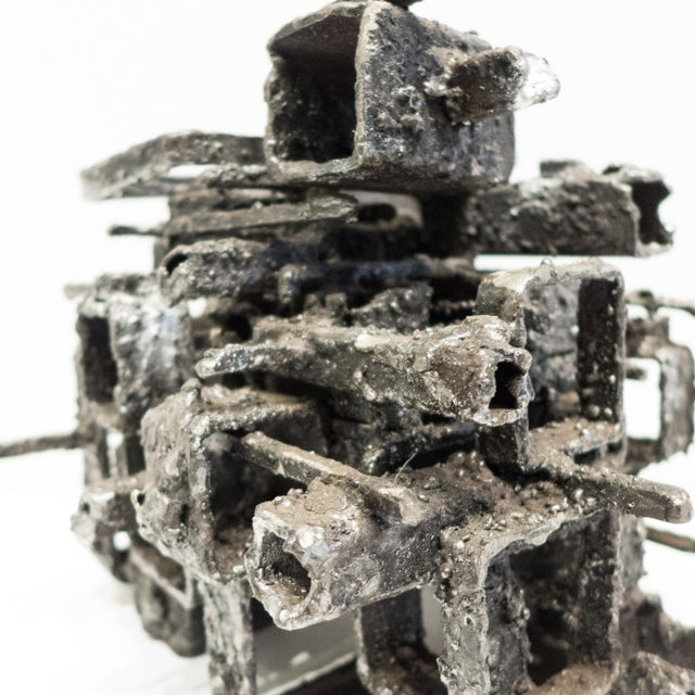"""Metal James Bearden """"Dwelling Box"""" Sculpture For Sale - Image 7 of 10"""