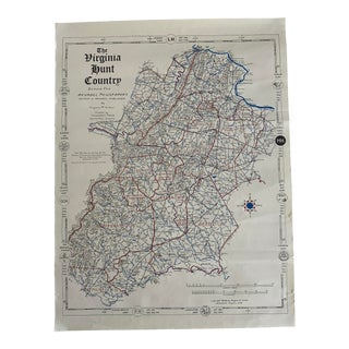 Map of Virginia Hunt Country For Sale