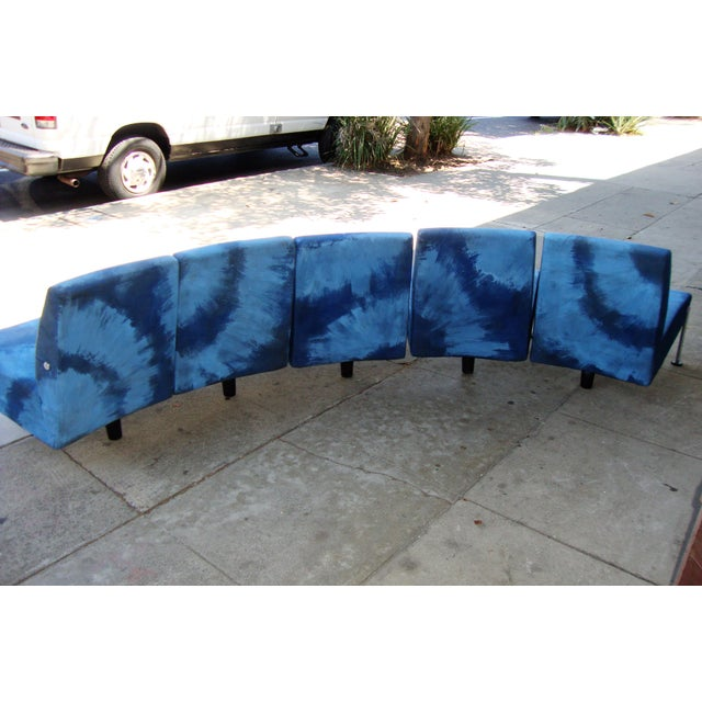 Modern Semi Round Sofa For Sale - Image 9 of 13