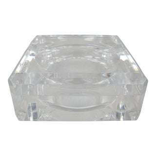 Alessandro Albrizzi Lucite Box For Sale