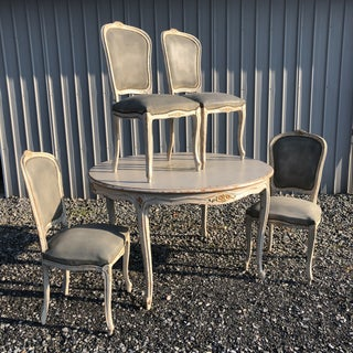 French Country Painted Dining Set - 5 Pieces Preview