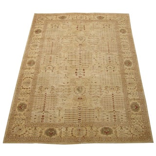 Authentic Fine Lahore Wool Rug - 11′9″ × 17′5″ For Sale