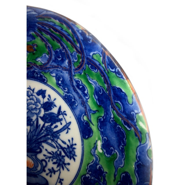 Antique Early Chinese Plate For Sale - Image 4 of 7