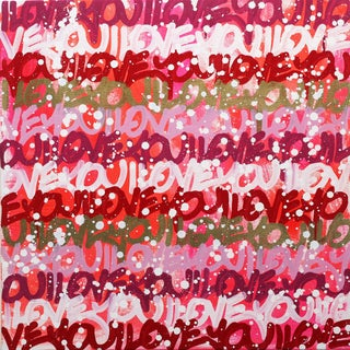 "Amber Goldhammer ""In the Heat of Love"" Painting For Sale"