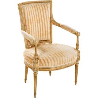 Louis XVI Painted Armchair - A Pair