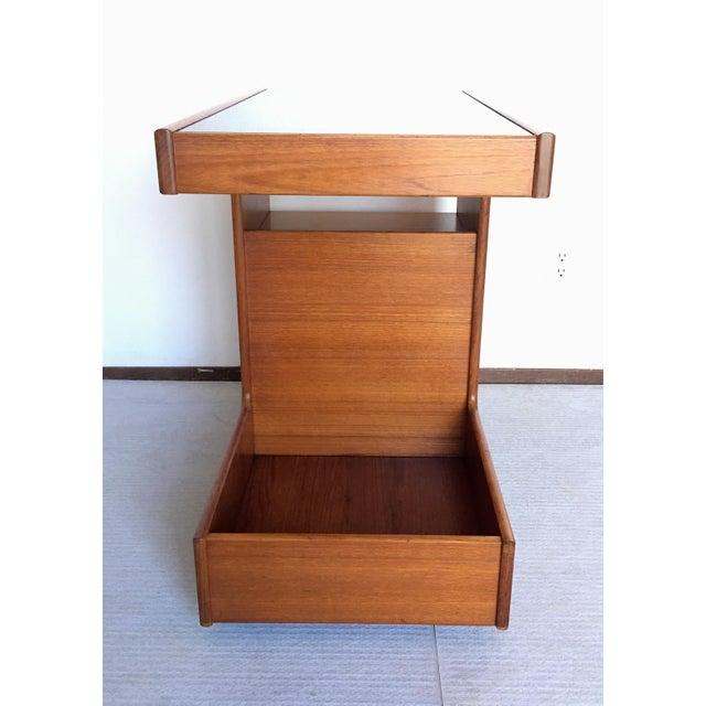 Pedersen & Hansen Danish Modern Bar Cart - Image 4 of 11
