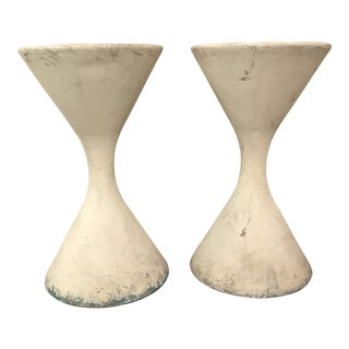 Willy Guhl Diablo Planters-a Pair For Sale