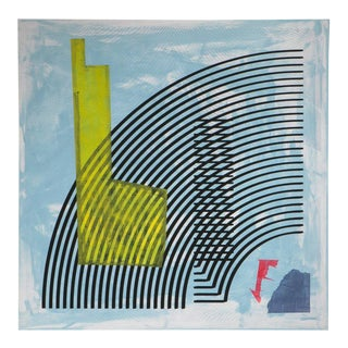 """Blue Arc Glitch"" by Spencer Staley"
