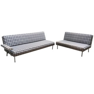George Nelson for Herman Miller Sofa and Loveseat Alexander Girard For Sale