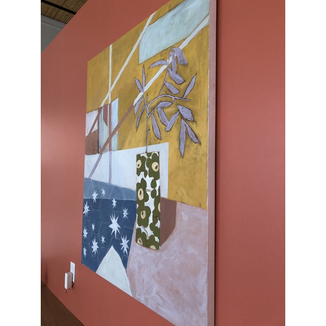 Starry Afternoon Contemporary Painting by Taelor Fisher For Sale - Image 4 of 6