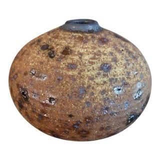 Otto and Vivika Heino Spherical Stoneware Vessel For Sale