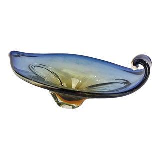 Art Glass Centerpiece Bowl For Sale