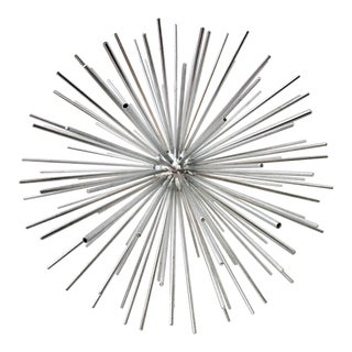 Curtis Jere Signed Chrome Sputnik Sculpture