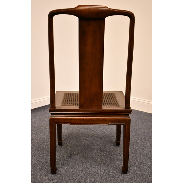 Wood Henredon Furniture Pan Asian Collection Side Chair For Sale - Image 7 of 11