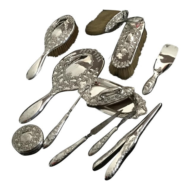 Tiffany & Co. Sterling Antique Dressing Tools - Set of 12 - Image 1 of 4