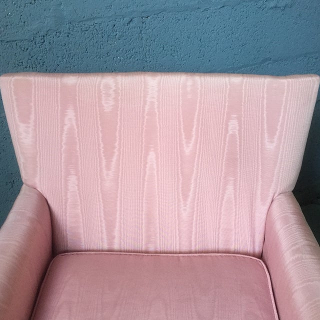 Vintage Pink Chaise Lounge - Image 9 of 11