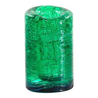 Jungle Contemporary Vase, Large, in Monochrome Green resin by Jacopo Foggini For Sale