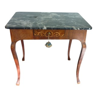 Dutch Inlay Table For Sale