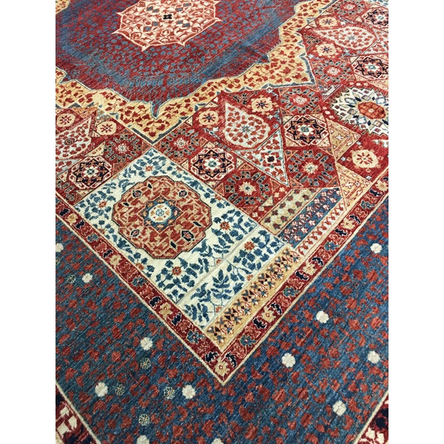 Mamluk Hand Knotted Wool Area Rug - 8'1 X 10'0 - Image 2 of 4