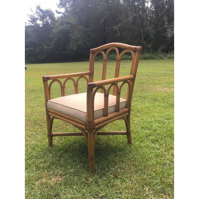 Wonderful Shelby Williams Industries Vintage Rattan Chair