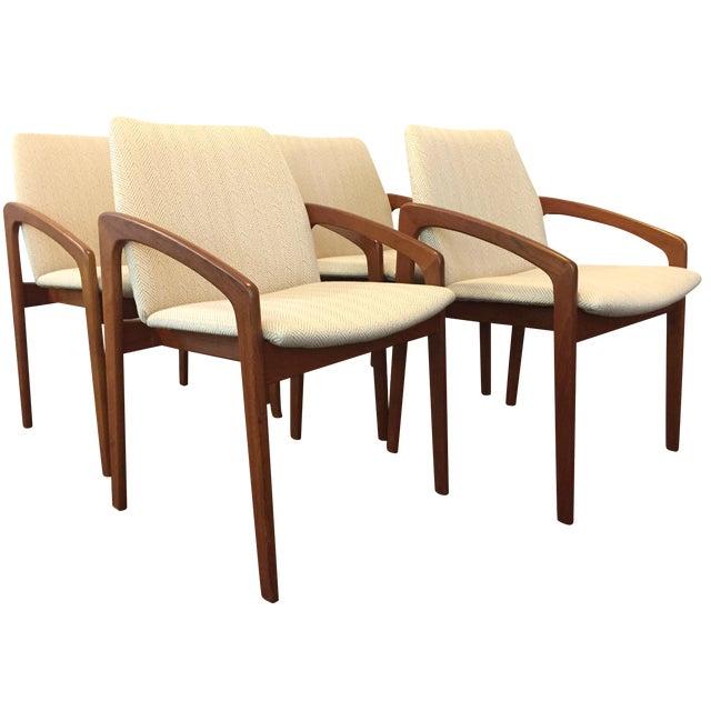 Kai Kristiansen Dining Chairs - Set of 4 - Image 1 of 10
